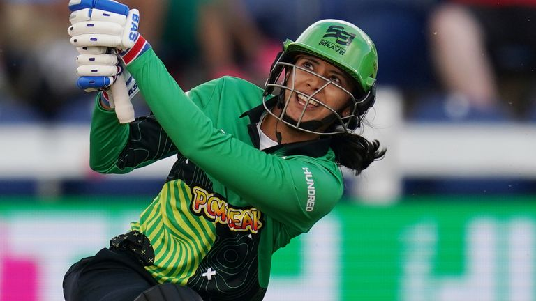 Smriti Mandhana made the most of a number of lifelines to score 78 from 52 deliveries at The Ageas Bowl