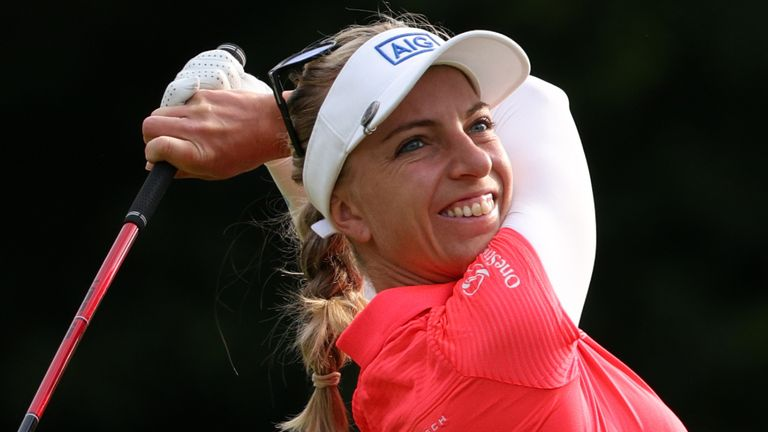 Sophia Popov returns as defending champion at the AIG Women's Open this week