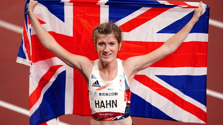 Sophie Hahn continues to set the standard in the women's T38 100m