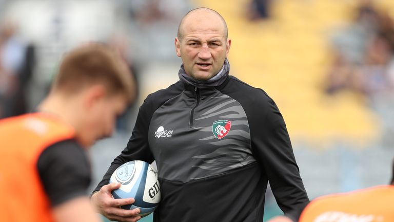 Steve Borthwick is overseeing Leicester's plans to return to the top