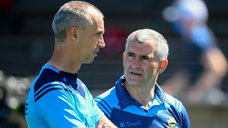 Tommy Dunne worked under Sheedy the last three years