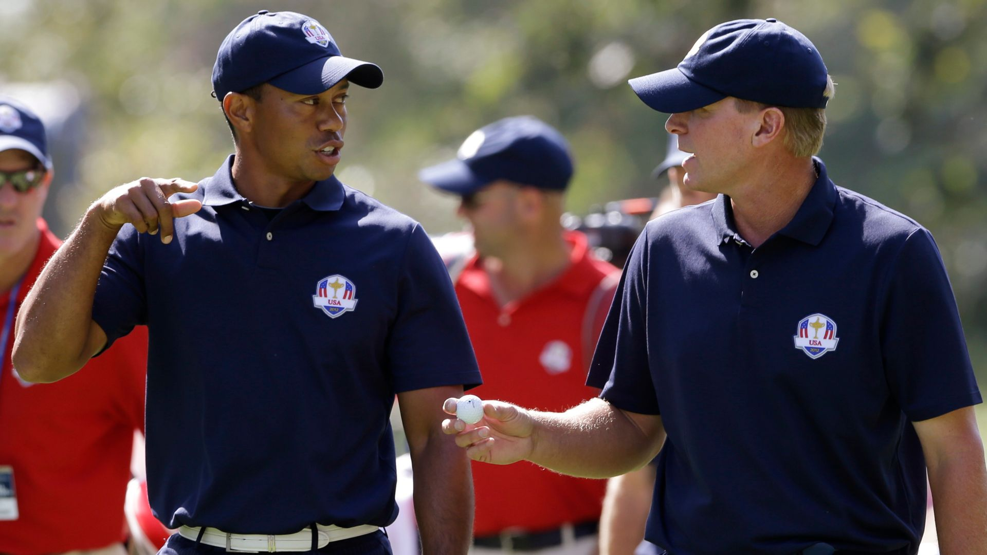Tiger texts his backing for USA in Ryder Cup
