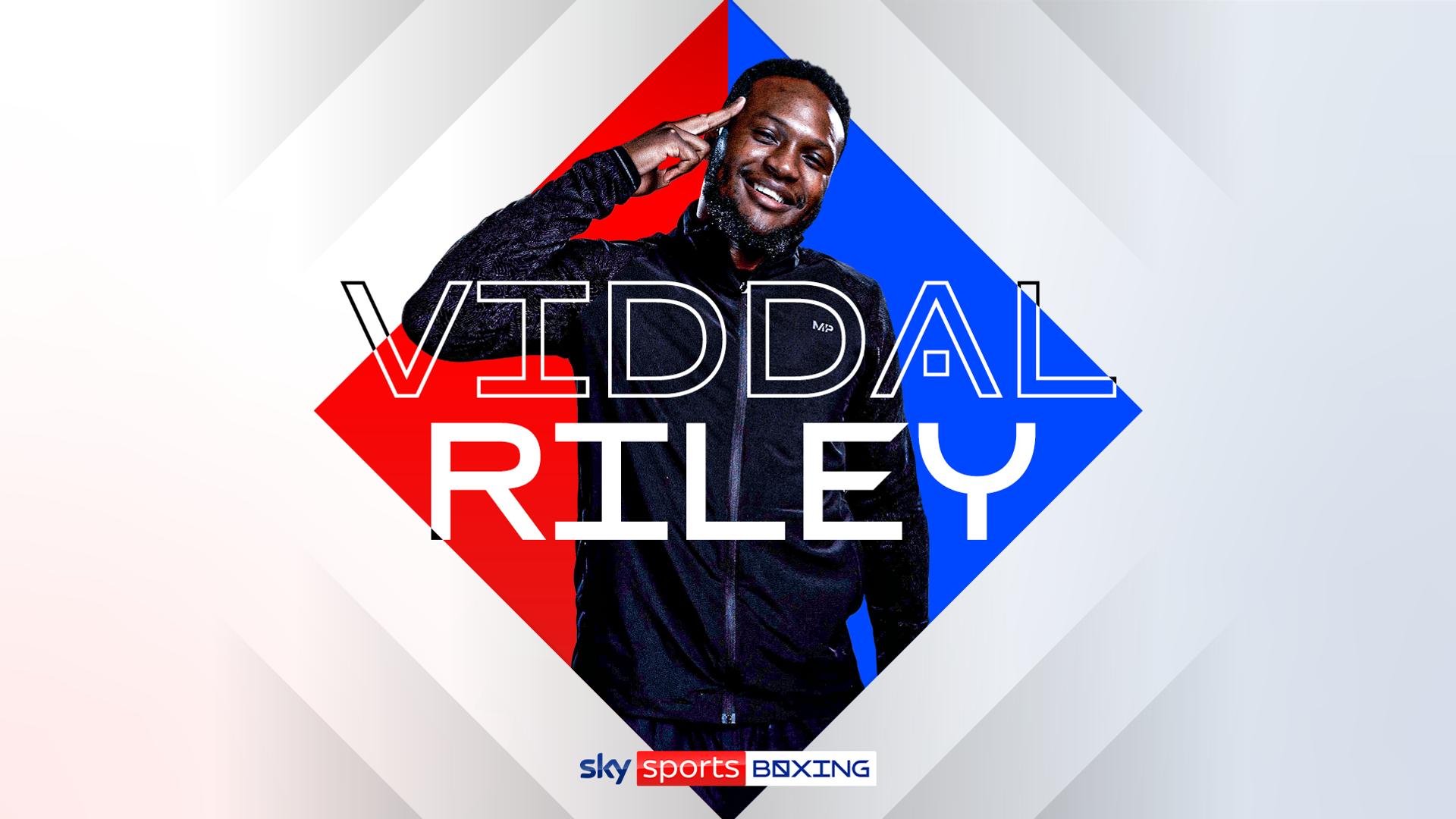 Viddal Riley's ringside watchalong tonight!