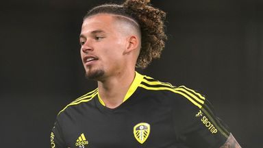 Leeds midfielder Kalvin Phillips has been linked with a move to bitter rivals Manchester United