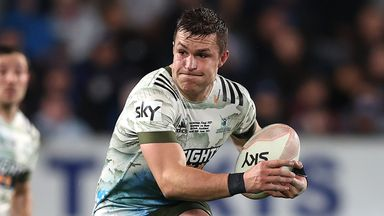 Former Highlanders player Michael Collins scored two tries on his Ospreys debut