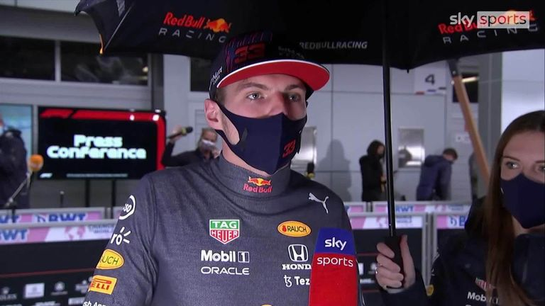 Max Verstappen admits he was not expecting to finish as high as second after fighting his way back from last position in Sochi