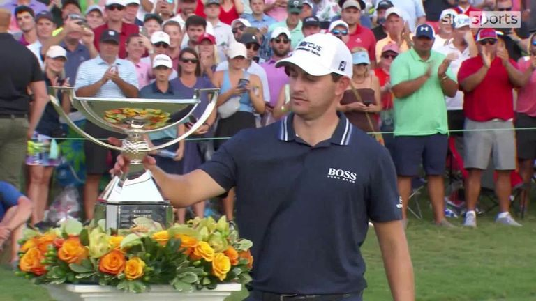 Patrick Cantlay reflects on his victory at the Tour Championship which clinched him the FedExCup and $15m jackpot