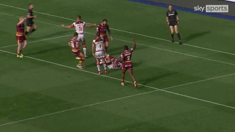 Highlights from the Betfred Super League clash between Huddersfield Giants and Leigh Centurions.