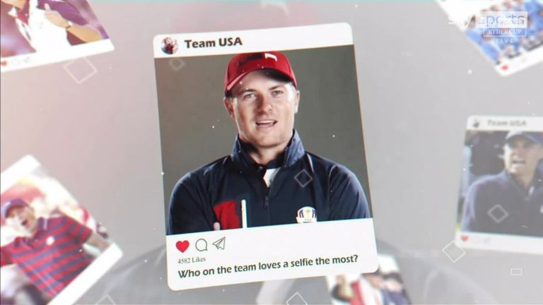 From the player they would least like to take control of their social media to the golfer who most loves a selfie, Team USA answer a variety of unusual questions about their Ryder Cup team-mates