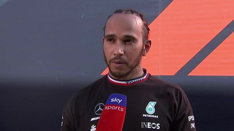 Mercedes' Lewis Hamilton felt the team's strategy calls were not as good as they could have been, but conceded that Max Verstappen had the better pace.