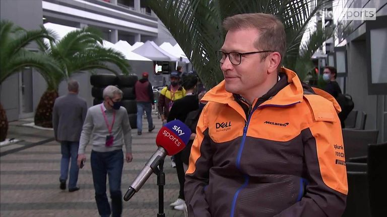 McLaren team principal Andreas Seidl admits the team made strategic mistakes as Lando Norris lost his race lead to Lewis Hamilton in the final stages.
