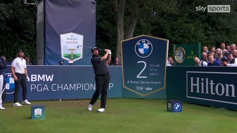 Highlights of the second round of the BMW PGA Championship as Kiradech Aphibarnrat opened up a one-shot lead at Wentworth