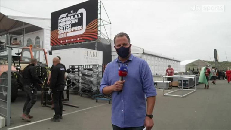 Ted Kravitz gives us a tour of the Zandvoort paddock ahead of this weekend's Dutch GP