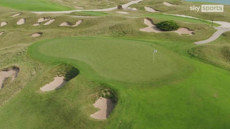 Every hole at Whistling Straits presents a unique challenge and making the right decisions will be crucial in gaining an advantage in Match Play. Luke Donald and Jim 'Bones' Mackay take a look at the 10th hole.