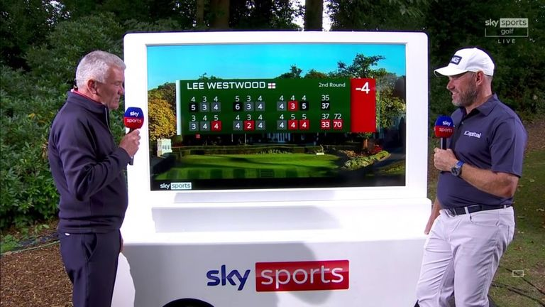 Lee Westwood described it as 'a good, battling day' as he overcame a slow start to card a second successive two-under 70 in the second round of the BMW PGA Championship