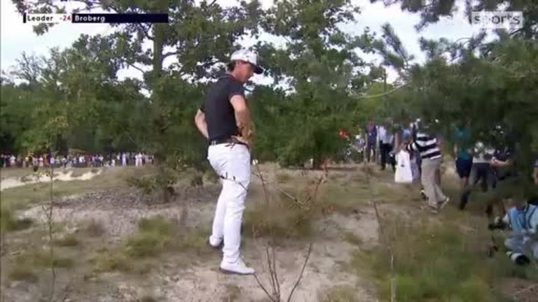 Watch highlights from the final round of the Dutch Open as  Kristoffer Broberg competes for victory