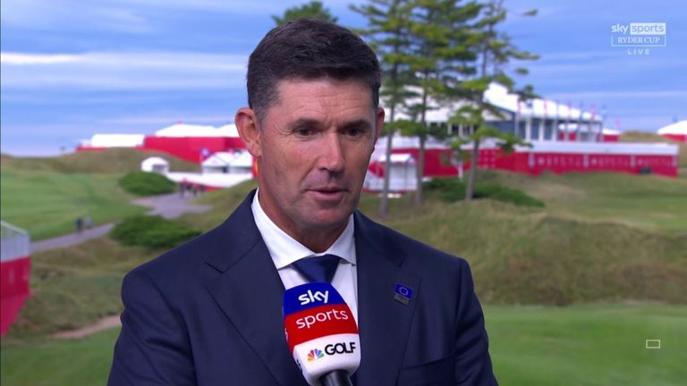 Harrington explains the thinking behind his Friday foursomes choices and takes a first look at the match-ups for the opening session