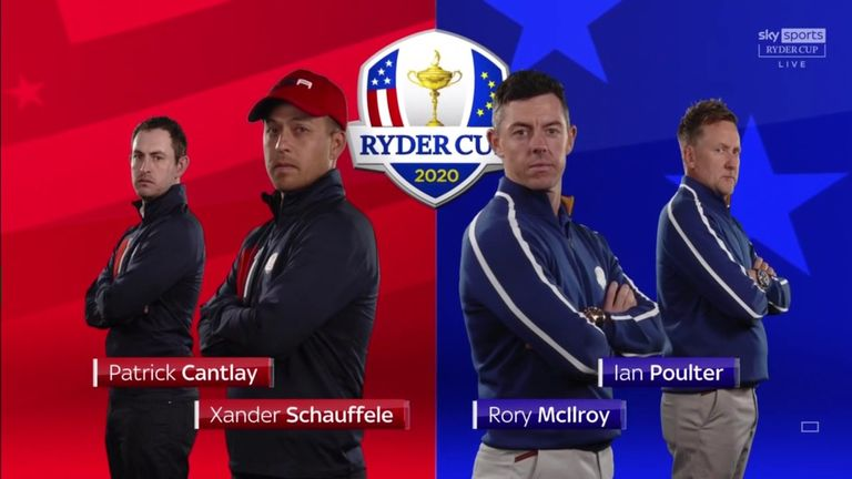 Highlights from Cantlay and Schauffele's victory