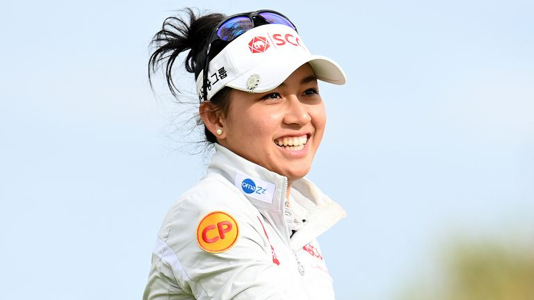Atthaya Thitikul battled her way to victory at the Swiss Ladies Open
