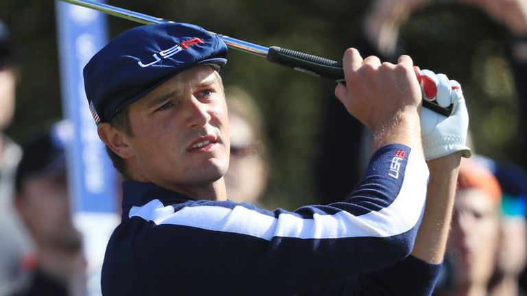 Bryson Dechambeau a perdu ses trois matches lors de ses débuts en Ryder Cup en 2018