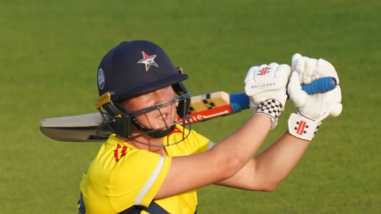 Alice Capsey held South East Stars' innings together after they had lost three wickets for four runs