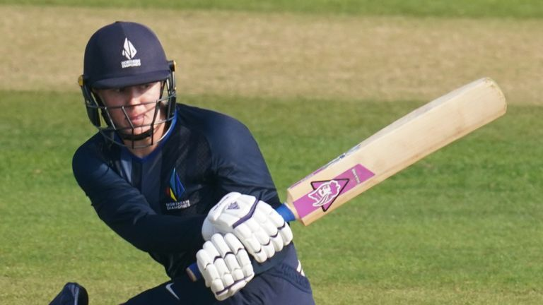 Hollie Armitage top-scored for Northern Diamonds with an unbeaten 59