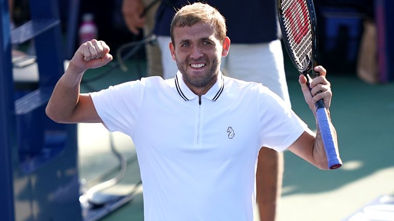 Dan Evans has first Grand Slam quarter-final in sight when he faces Daniil Medvedev