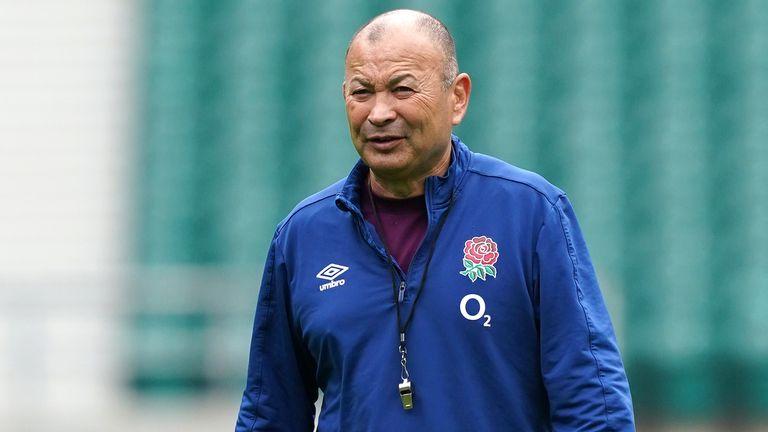 Eddie Jones et l'Angleterre se rendront en France pour la Coupe du monde de rugby 2023 en septembre
