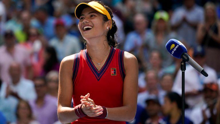 Emma Raducanu is yet to lose a set at Flushing Meadows