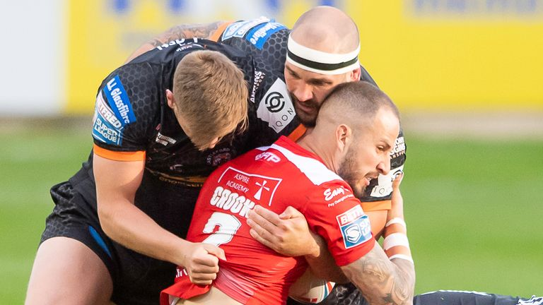 Castleford are eyeing a strong defensive display against Hull KR to allow their attacking game to flourish