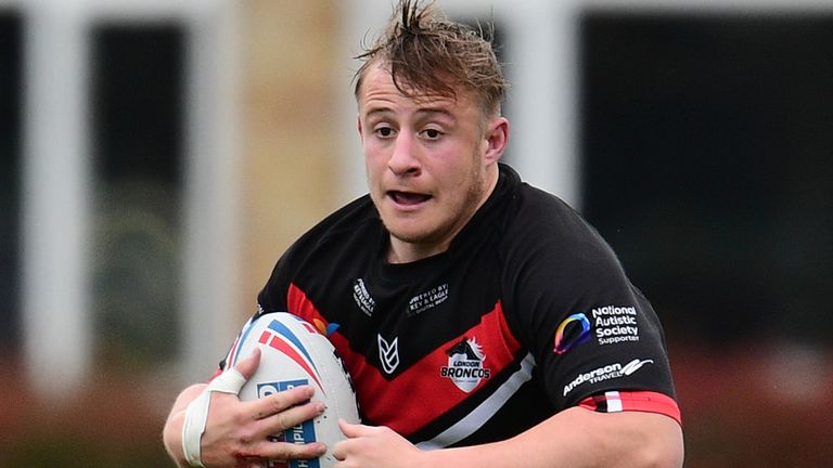 London Broncos' Greg Richards is joining Hull KR from 2022