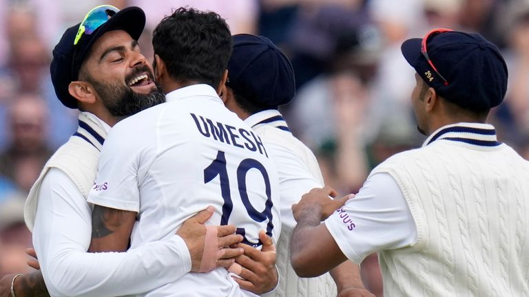 Highlights from The Kia Oval as India beat England by 157 runs at The Kia Oval to take a 2-1 series lead