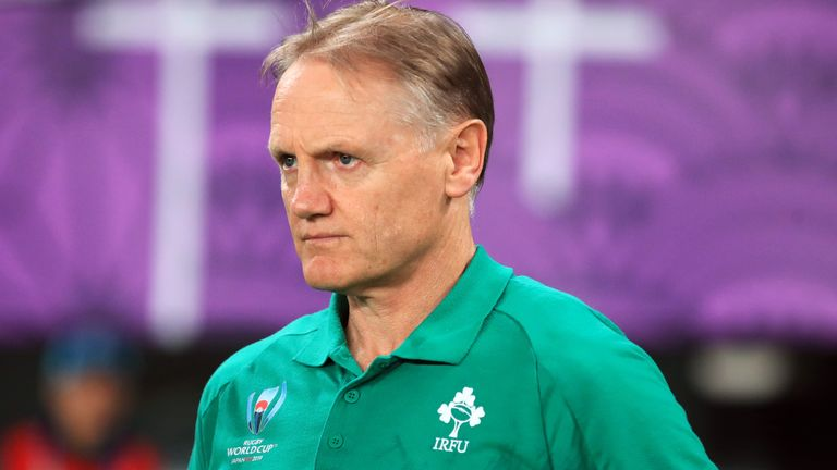 Former Ireland head coach Joe Schmidt is World Rugby's director of rugby and high performance