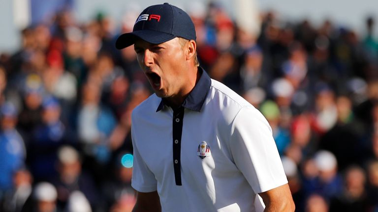 Jordan Spieth at the 2018 Ryder Cup