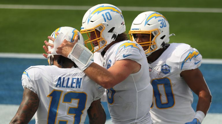 Austin Ekeler says he's attempted to do the things that Keenan Allen can do on a football field, but it just isn't possible.