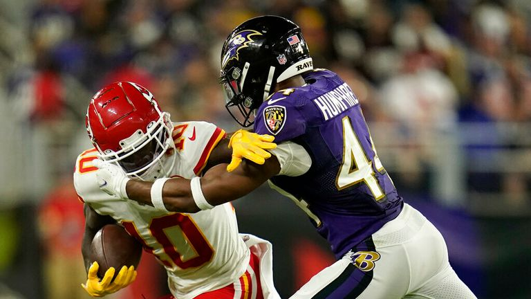Highlights from a thrilling game between the Kansas City Chiefs and the Baltimore Ravens in Week Two