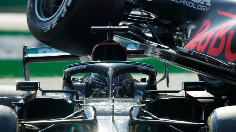 Martin Brundle: Analysing Lewis Hamilton and Max Verstappen's latest clash and McLaren's triumph Martin Brundle: Analysing Lewis Hamilton and Max Verstappen's latest clash and McLaren's triumph skysports lewis hamilton f1 5510866
