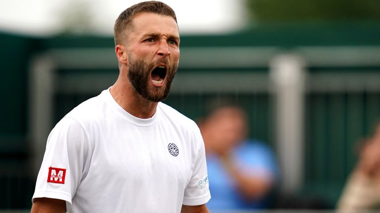 Liam Broady finally claimed his maiden ATP Challenger title at the eighth time of asking