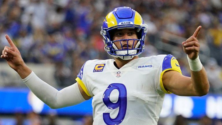Chicago Bears 14-34 Los Angeles Rams: Matthew Stafford shins in routine Rams win