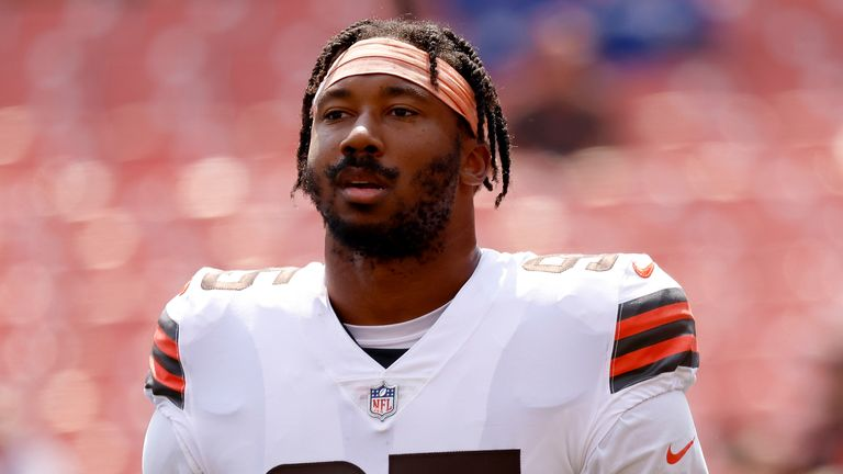 Myles Garrett is aiming to become the LeBron of the Browns
