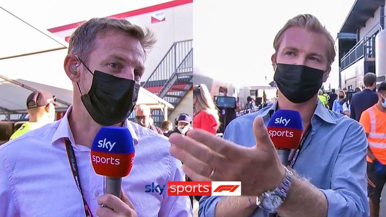Jenson Button e Nico Rosberg discutono se la Mercedes abbia commesso un errore nella loro strategia nel tentativo di battere Lewis Hamilton su Max Verstappen.