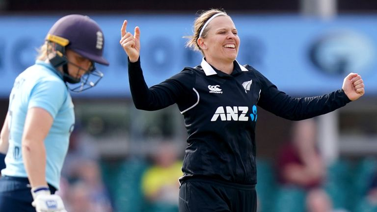 Lea Tahuhu was in sparkling form as she took 5-37 and then scored an unbeaten 19 to seal the win