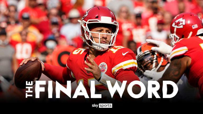 Le dernier mot : Patrick Mahomes et la puissance de feu des Chiefs, les débuts de rêve de David Culley en tant qu'entraîneur et les inquiétudes de Zach Wilson    Nouvelles de la NFL