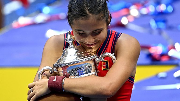 Virginia Wade says Emma Raducanu's US Open triumph could be the start of a new era of women's tennis