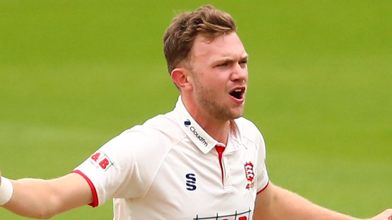 Sam Cook took 10 wickets in the match for Division Two champions Essex