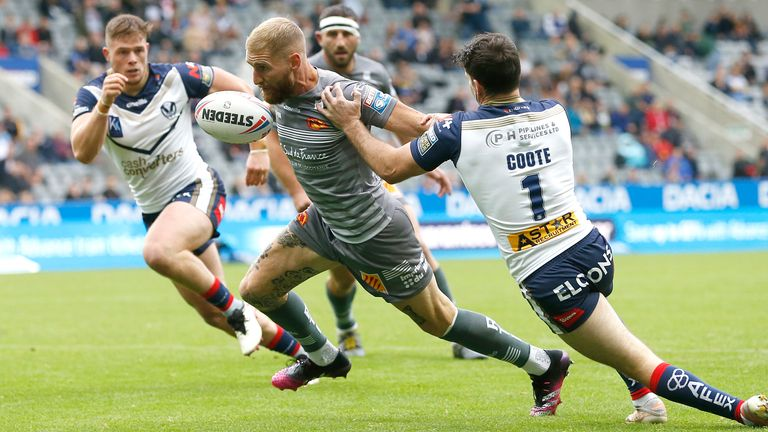 Tomkins has been pivotal in the Dragons' best-ever Super League campaign