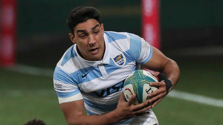 Santiago Carreras, 23, will start at fly-half for the first time in his Test career vs the All Blacks on Saturday