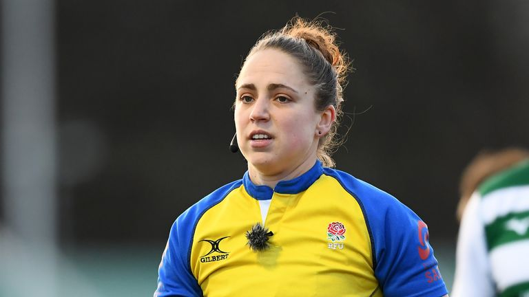 Sara Cox to become first woman to referee Gallagher Premiership match    Rugby Union News