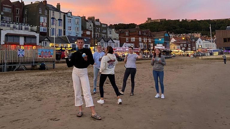 Scarborough is a great place to play - both on and off the pitch!