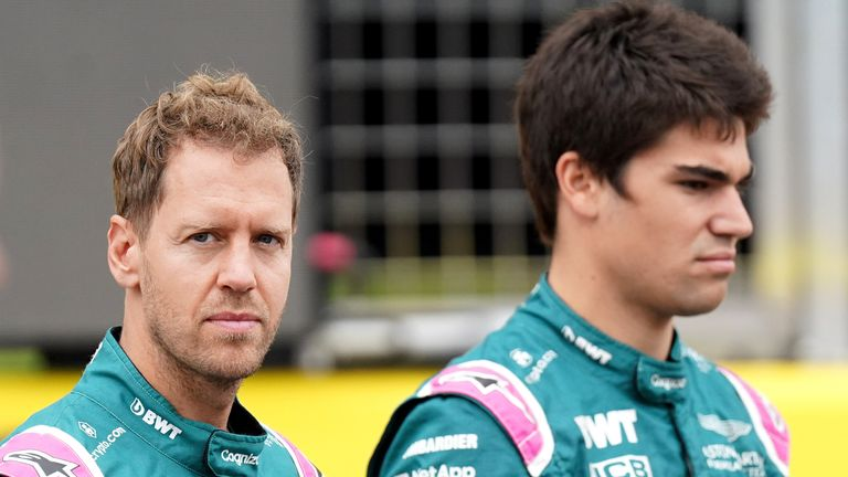 Sebastian Vettel and Lance Stroll will race again for Aston Martin next season